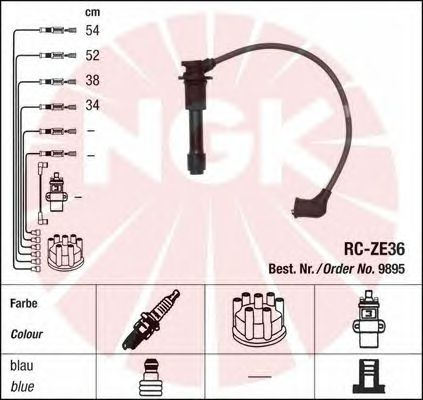 Ignition Cable Kit 9895