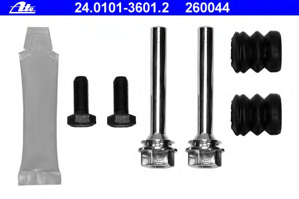 HELLA PAGID 8DZ 355 201-641 Accessory Kit brake caliper Rear Axle or Front Axle