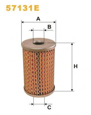 Hydraulic Filter, steering system 57131E