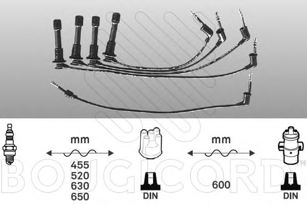 Ignition Cable Kit 7145