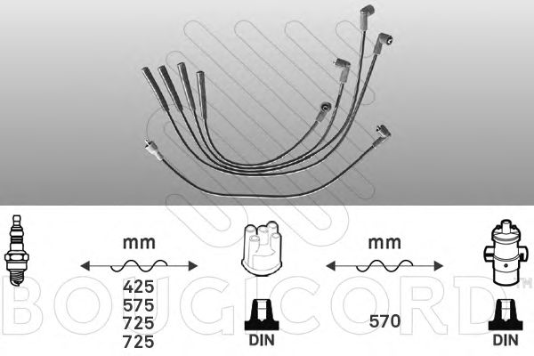 Ignition Cable Kit 4060