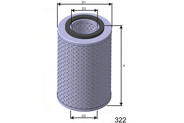 Hydraulic Filter, steering system L406A